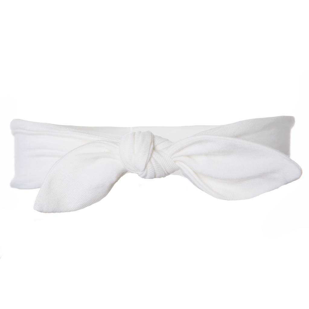 Bow Headband Natural - little orange fish aea34af0aa0