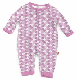 Magnificent Baby Pink Mod Fish Modal Coverall