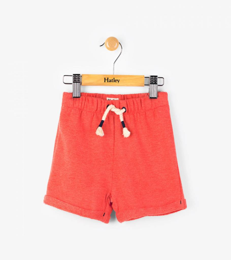 Hatley Fire Corallium Mini Pull-On Shorts