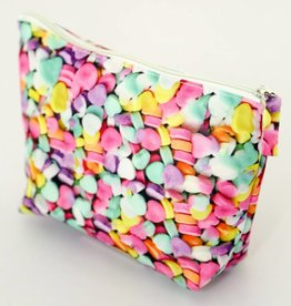 Fydelity Print Zip Pouch Candy Hearts