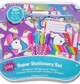 Three Cheers for Girls! Unicorn Super Stationery Set