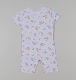 Kissy Kissy Mermaid Magic Print Short Pajamas