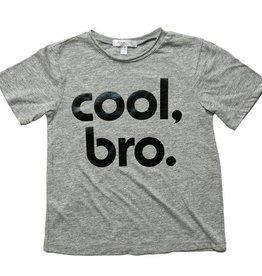 Joah Love Cool Bro Grey Cruz Tee