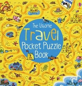 Usborne Travel Pocket Puzzle Book