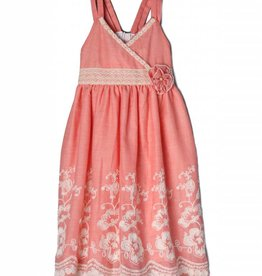 Isobella & Chloe Coral Sweetwater Dress