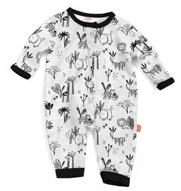 Magnificent Baby Animal Safari Modal Coverall