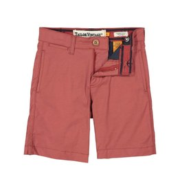 Tailor Vintage Hybrid Chino Short Canyon Red