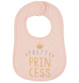 Mud Pie Pretty Princess Glitter Bib