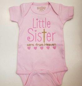 Sara Kety Little Sister Heaven Onesie