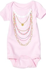 Sara Kety Pink Necklaces Onesie