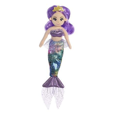 """Aurora 10"""" Sea Sparkles Iris Mermaid"""