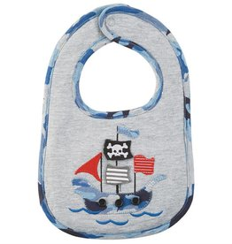 Mud Pie Pirate Ship Bib