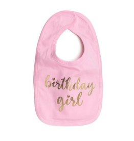 Sweet Wink Birthday Girl Bib