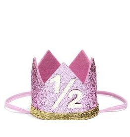 Sweet Wink Pink Half Crown