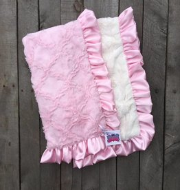 Rockin Royalty Girly Girl Double Cuddle Blanket