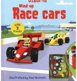 Usborne Wind-Up Race Cars Book