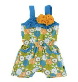 Kickee Pants Flower Romper Beach Umbrellas