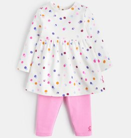 Joules Baby Christina Set Cream Acorn Spot