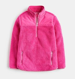 Joules Elena Fleece Half-Zip True Pink