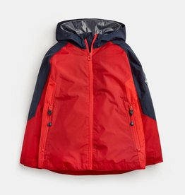Joules Dalton Showerproof Jacket Red