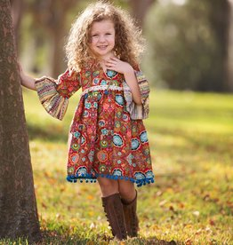 Haute Baby Gypsy Autumn Boho Dress