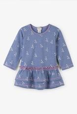 Hatley Metallic Hearts Baby Layered Dress Muscari