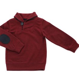 Kapital K Shawl Collar Pullover Crimson
