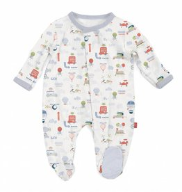 Magnificent Baby Little Voyager Modal Footie