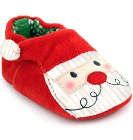 Trimfoot Co. Red Velour Santa Slipper