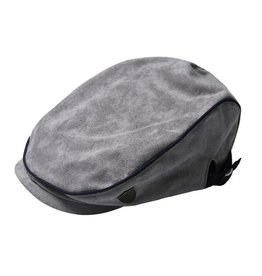 Fore!! Axel & Hudson Grey Suede Diver's Cap