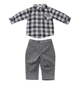 Fore!! Axel & Hudson LS Reversible Plaid Shirt Set