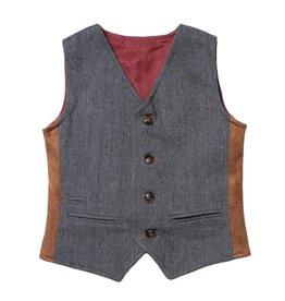 Fore!! Axel & Hudson Herringbone Reversible Vest