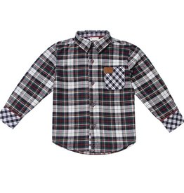 Fore!! Axel & Hudson LS Multi Color Holiday Plaid Shirt