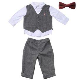 Fore!! Axel & Hudson LS Herringbone Vest Set & Bow Tie