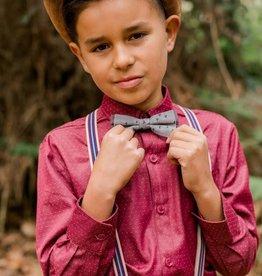 Fore!! Axel & Hudson LS Crimson Pindot Shirt