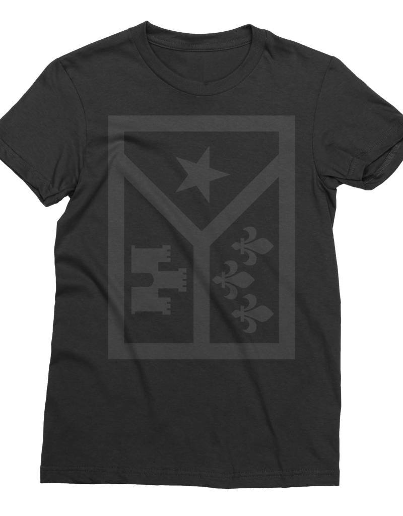 Acadian Flag Icon Womens Tee