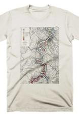 Mississippi River Print #15 Mens Tee