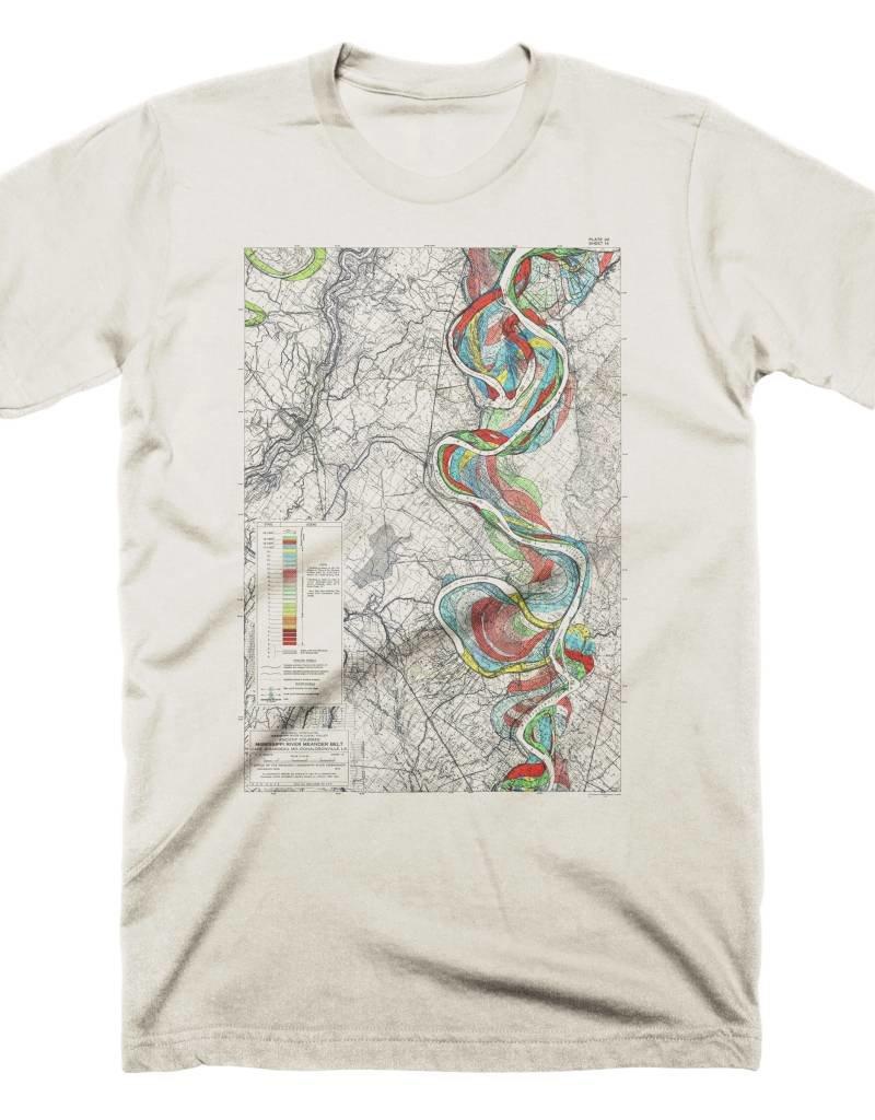 Mississippi River Print #14 Mens Tee