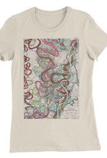 Mississippi River Print #11 Womens Tee