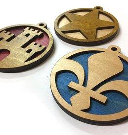 Acadian Elements Ornament Set
