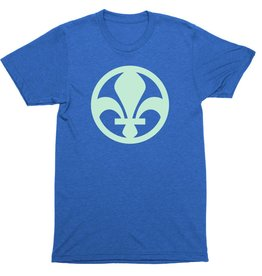 Flag Element Fleur De Lis Mens Tee