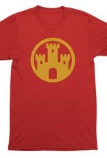 Flag Element Castle Mens Tee