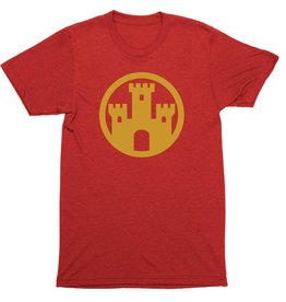 Flag Element Castle Mens Tee