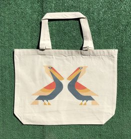 Perched Pelican Tote