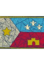 3X5 Patchwork Acadian Flag