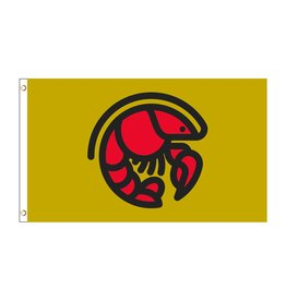 3X5 Crawfish Icon Flag