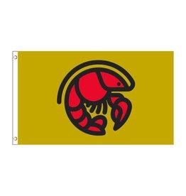 3X5 Crawfish Icon Flag