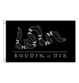3x5 Boudin, or Die Flag