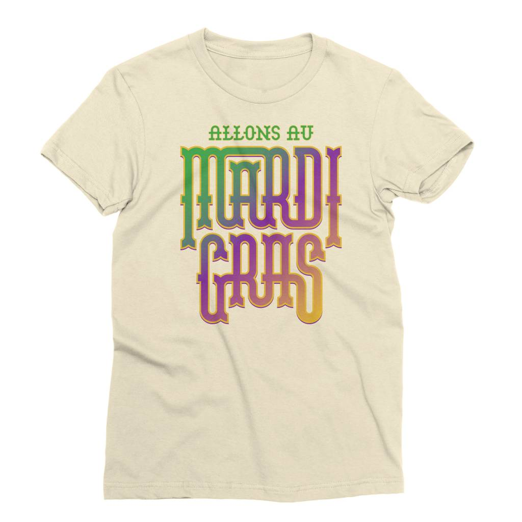 Fancy Mardi Gras Womens Tee