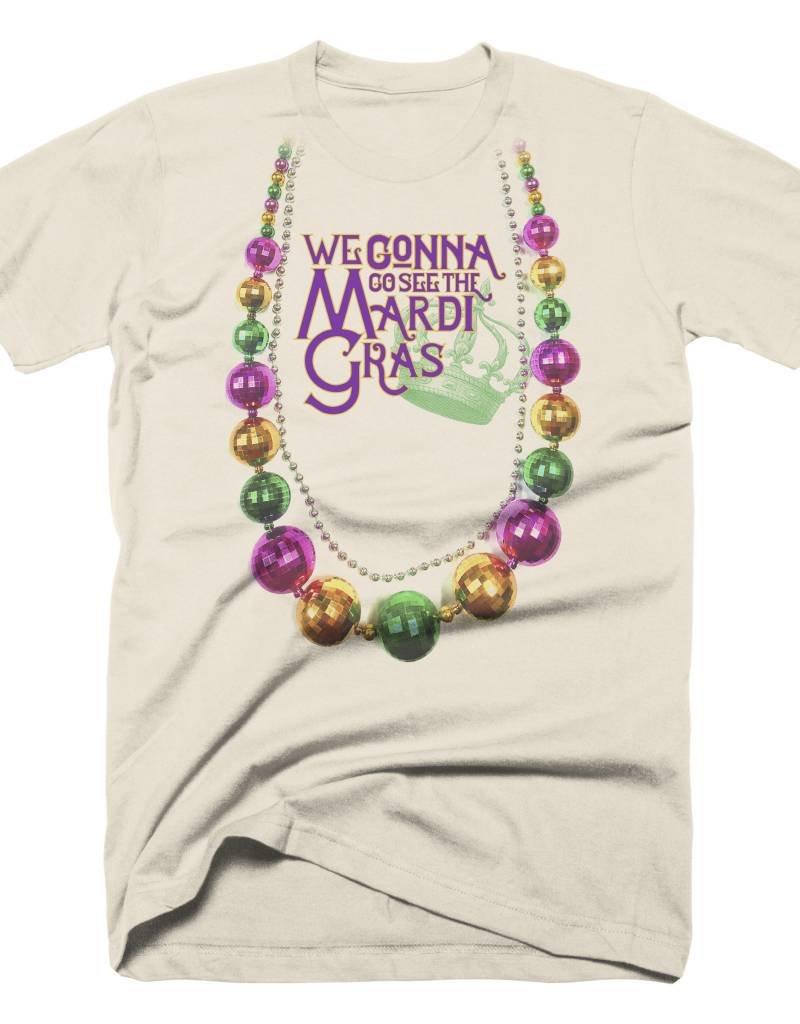 Mardi Gras Beads Mens Tee